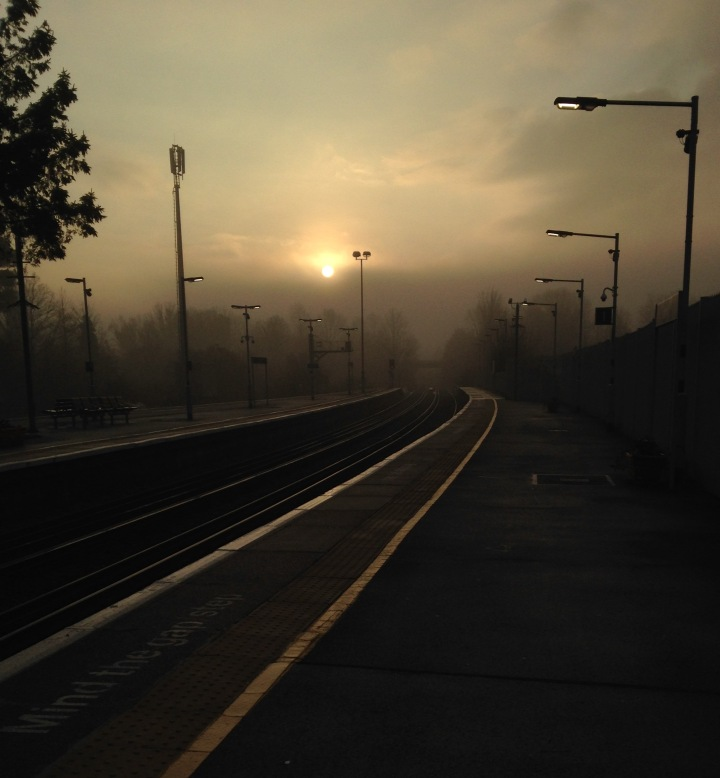 Dorking Station, Early Morning