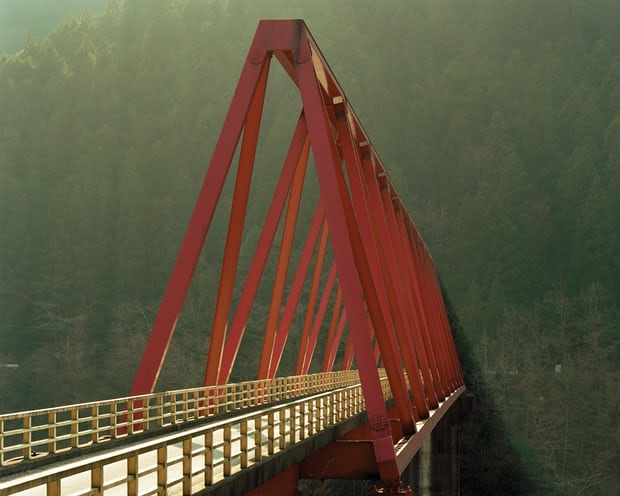 Red Bridge, Toshio Shibata