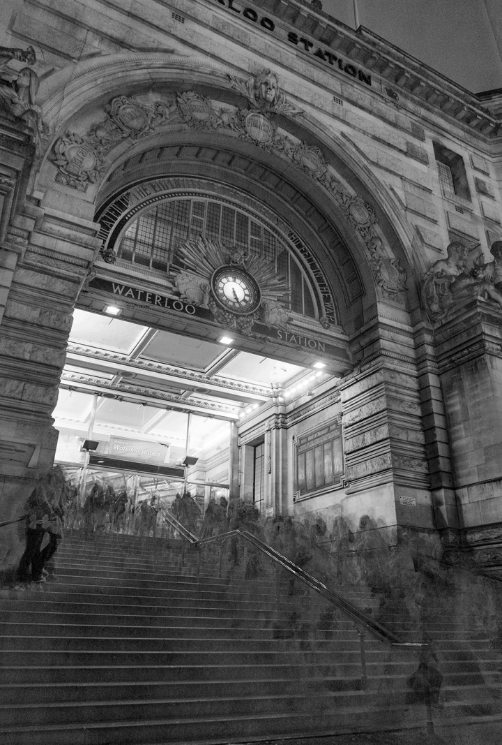 After Titarenko - Waterloo Entrance - Screen plus BW