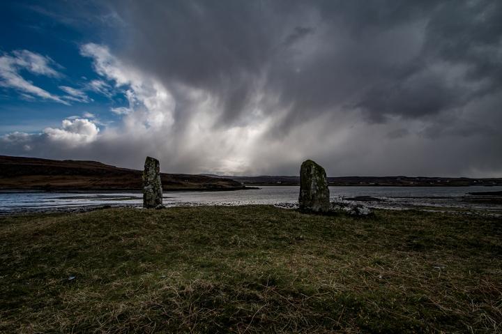 Skye - Loch Snizort - Standing Stones