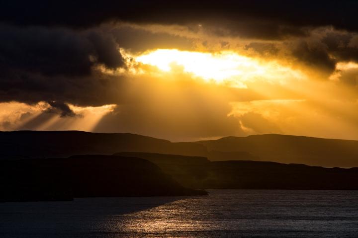 Skye - Loch Snizort - Sunset