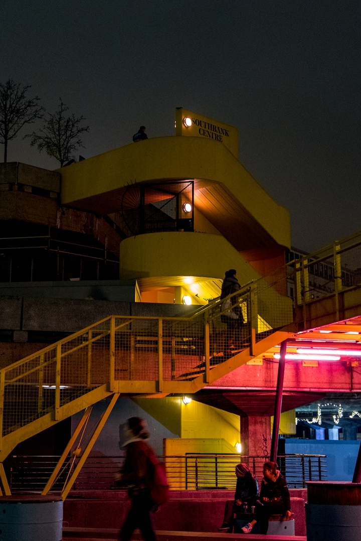 South Bank - Yellow Stairs