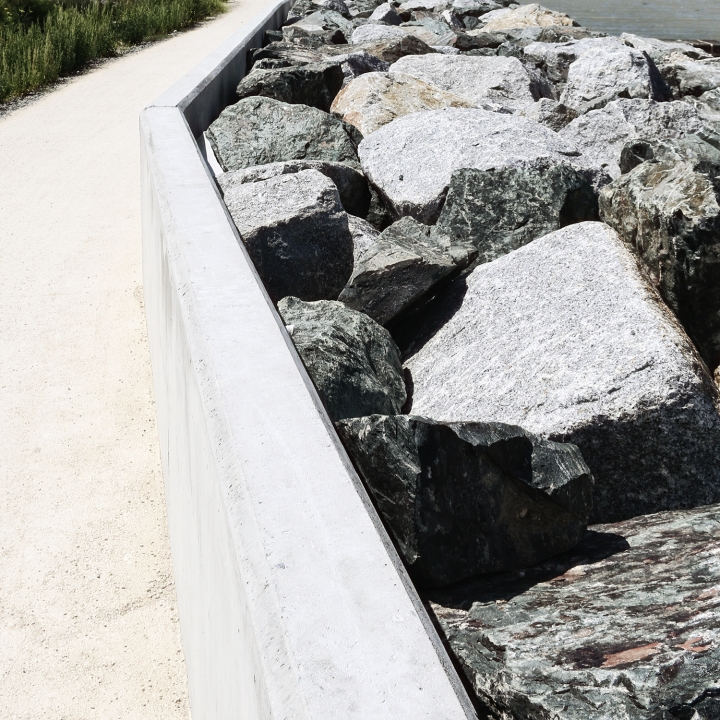 Sea Wall - Pointe Du Chay